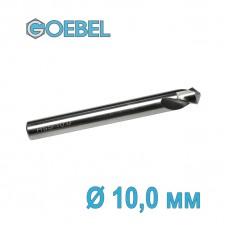 Сверло по металлу GOEBEL DIN 1897 короткое HSS-G шлифованное Ø 10.0 мм