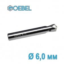 Сверло по металлу GOEBEL DIN 1897 короткое HSS-G шлифованное Ø 6.0 мм