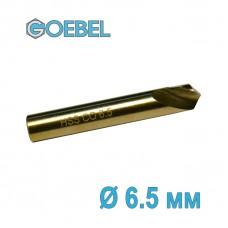 Сверло по металлу GOEBEL DIN 1897 короткое HSS-G Co шлифованное Ø 6.5 мм