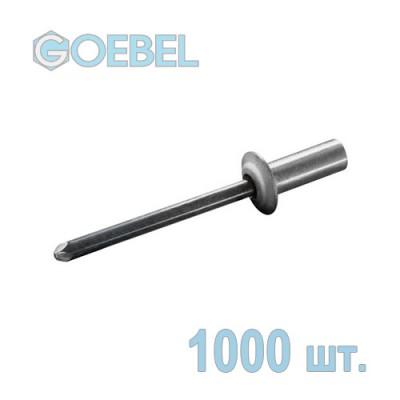 Заклепка вытяжная GOEBEL 4х8 мм Al/St герметичная 1000 шт.