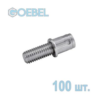 Заклёпка винтовая GOEBEL GO-BOLT St - М6 - L1 10 мм - 2.5-4.0 мм 100 шт.