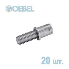 Заклёпка винтовая GOEBEL GO-BOLT St - М4 - L1 10 мм - 0.5-2.0 мм 20 шт.